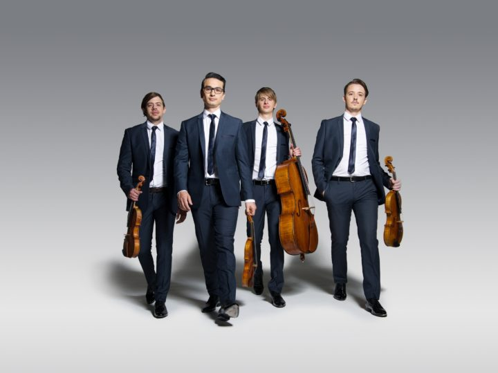 Orava Quartet: debut album for Deutsche Grammophon Australia